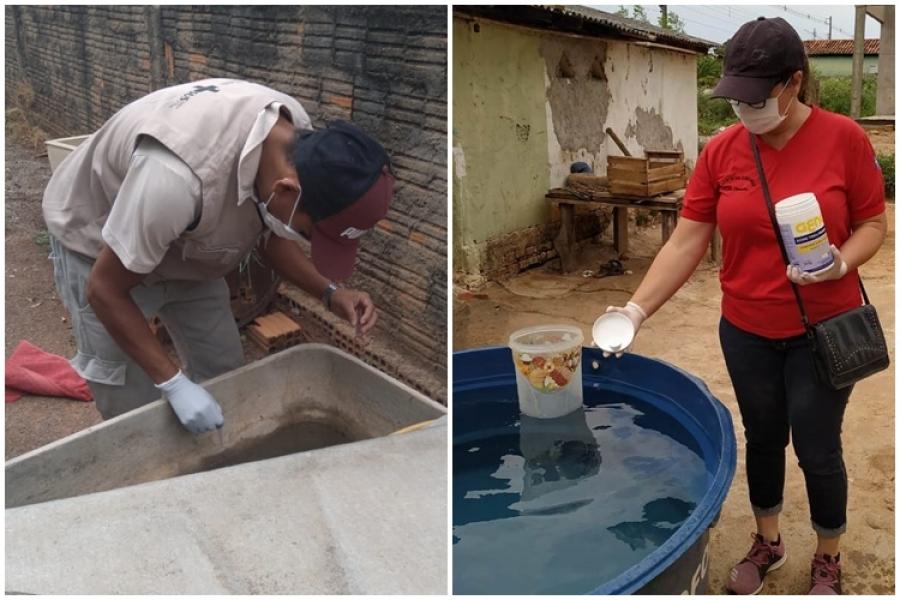 Com o início das chuvas Prefeitura reforça luta contra o mosquito Aedes Aegypti